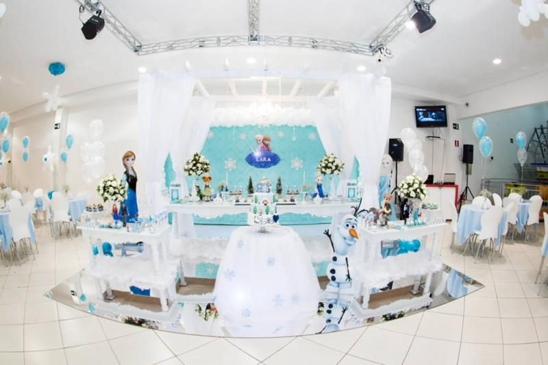 Tapete Espelhado para usar com decoração tema Frozen. Tamanho 5 x 5 ou 4 x 4